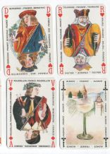 Collectible playing cards Vins de France by Grimaud, Paris,